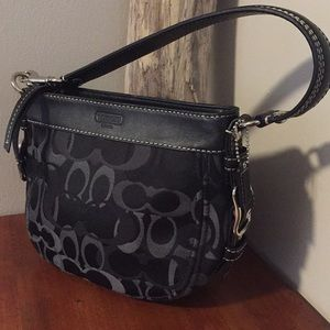 ⭐️ COACH small black handbag